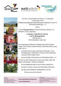 Nicaragua-Abend @ St. Martins-Gemeinde | Dietzenbach | Hessen | Deutschland